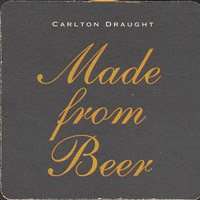 Beer coaster carlton-18-zadek