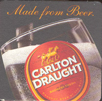 Beer coaster carlton-18