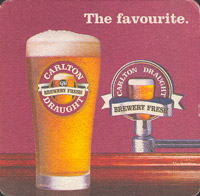 Beer coaster carlton-22