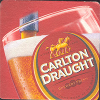 Beer coaster carlton-7