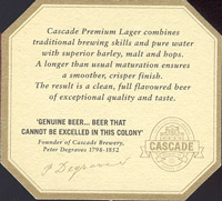 Beer coaster cascade-8-zadek