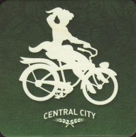 Beer coaster central-city-brewers-2