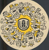 Beer coaster cerna-hora-2