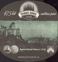 Beer coaster cerna-hora-32