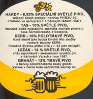 Beer coaster cerna-hora-6-zadek