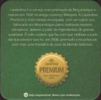 Beer coaster cervejas-de-mocambique-2-zadek
