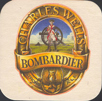 Pivní tácek charles-wells-13-oboje