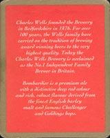 Pivní tácek charles-wells-2-zadek