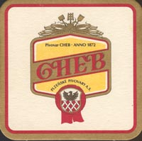 Beer coaster cheb-1