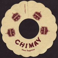 Beer coaster chimay-17