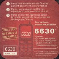 Pivní tácek chimay-18-zadek-small