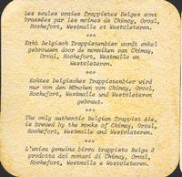 Pivní tácek chimay-4-zadek