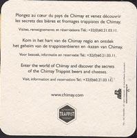 Pivní tácek chimay-5-zadek