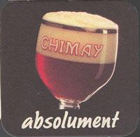 Pivní tácek chimay-7