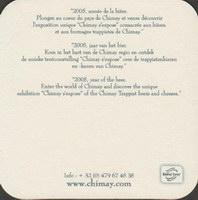 Pivní tácek chimay-9-zadek-small