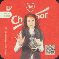 Beer coaster chotebor-19-zadek