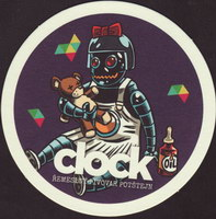 Beer coaster clock-9-small