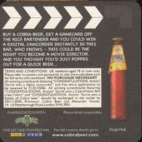 Pivní tácek cobra-3
