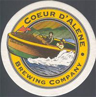 Beer coaster coeur-dlene-1