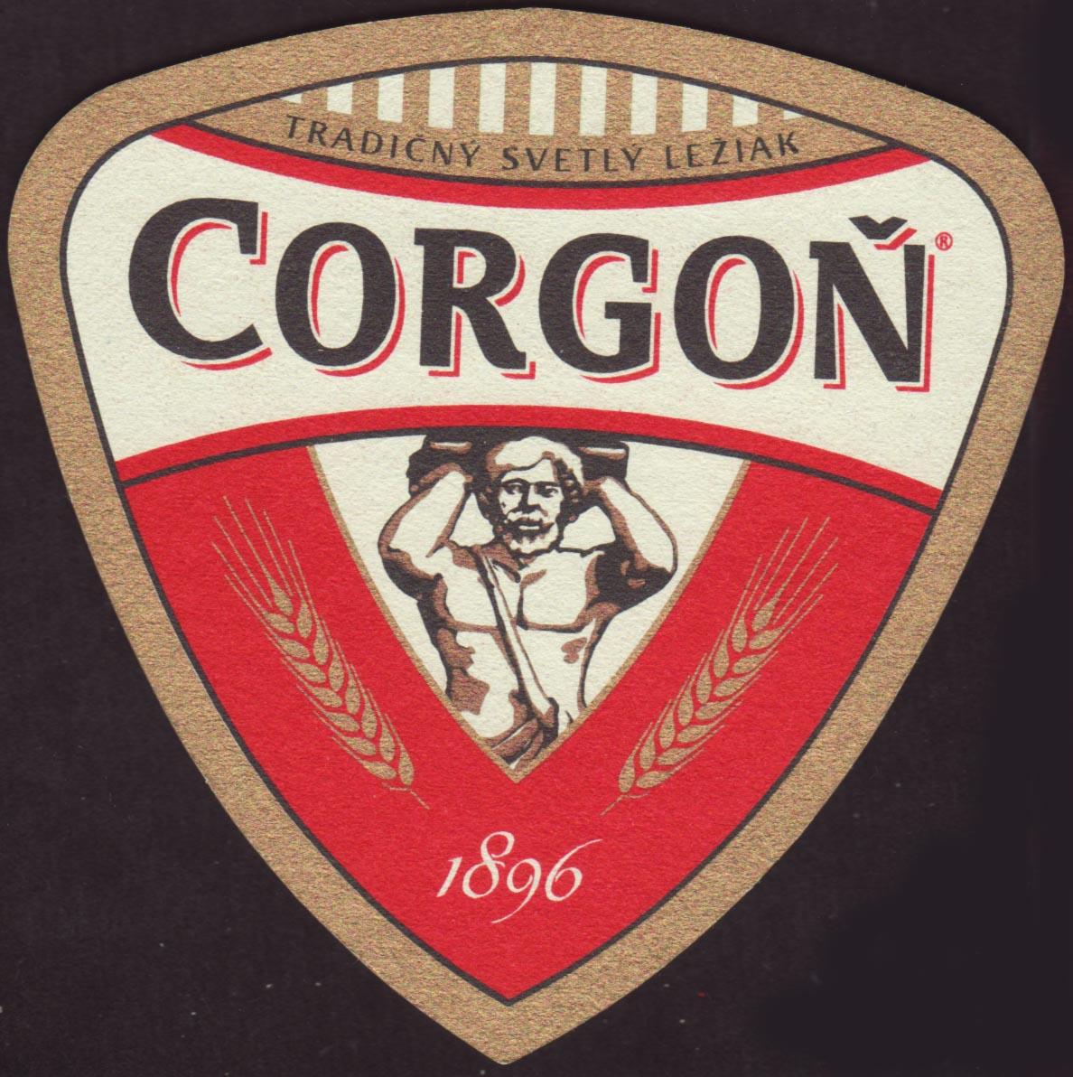Beer coaster corgon-11