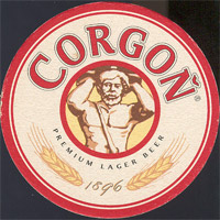 Beer coaster corgon-12
