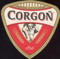 Beer coaster corgon-19
