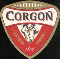 Beer coaster corgon-20