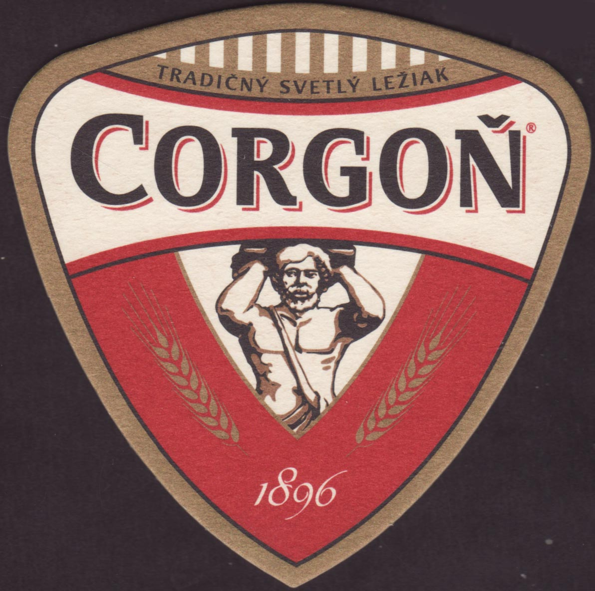 Beer coaster corgon-21