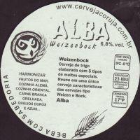 Beer coaster coruja-3-zadek-small
