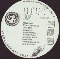 Beer coaster coruja-4-zadek