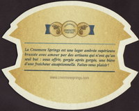 Beer coaster creemore-springs-10-zadek-small