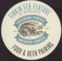 Beer coaster creemore-springs-12