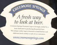 Beer coaster creemore-springs-3-zadek