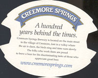 Beer coaster creemore-springs-4-zadek