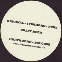 Beer coaster crow-mountain-craft-1-zadek-small