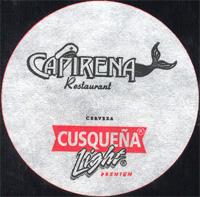 Beer coaster cusquena-10