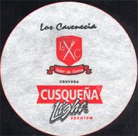 Beer coaster cusquena-12