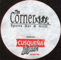 Beer coaster cusquena-13