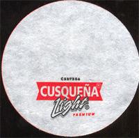 Beer coaster cusquena-14