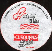 Beer coaster cusquena-15