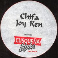 Beer coaster cusquena-16