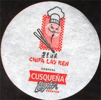 Beer coaster cusquena-17