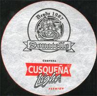 Beer coaster cusquena-19