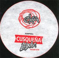 Beer coaster cusquena-21