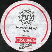 Beer coaster cusquena-23
