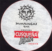 Beer coaster cusquena-25