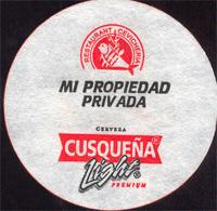 Beer coaster cusquena-28