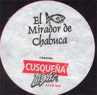 Beer coaster cusquena-30