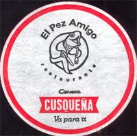 Beer coaster cusquena-32