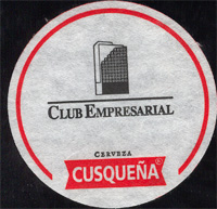 Beer coaster cusquena-6